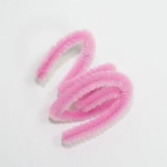 Бархатная палочка светло-розовая - Материалы для канзаши (фурнитура)